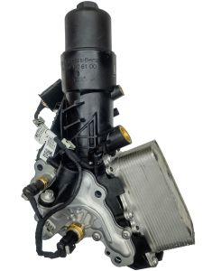 Oil filterholder and cooler A6541806100 Mercedes